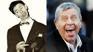 Jerry Lewis transformation from 2 to 91 years old