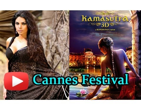 Kamasutra 3D Actress Sherlyn Chopra In 7 Costumes At 66th Cannes International Film Festival