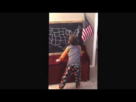 watch 5 year old sings 50 states and capitals song
