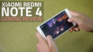 Can Xiaomi Redmi Note 4 Support High-End Games? We Test