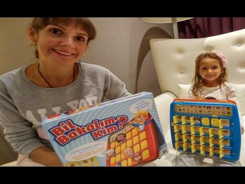 Bil Bakalım kim oyuncak kutusu açtık, eğlenceli çocuk videosu, toys unboxing