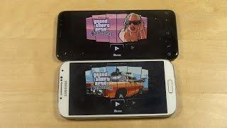 GTA San Andreas Samsung Galaxy S8 vs. Samsung Galaxy S4 Gameplay Review!
