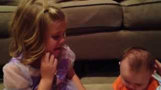 Cutest little Brother & Sister video ever !