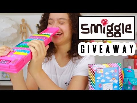 Huge Smiggle Haul | School Supplies Package Giveaway | Ambi C Unboxing Squishy Stationery Vlog