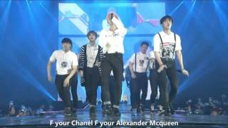 BTS HYYH 화양연화 on stage Converse High eng subbed