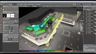 How to show the Light Distribution in 3D views