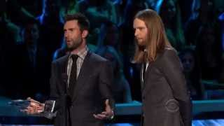 Maroon 5 win