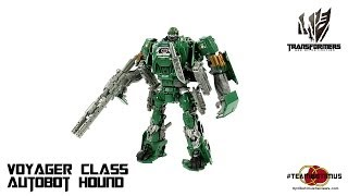 Video Review of the Transformers Age of Extinction: Voyager Class Autobot Hound