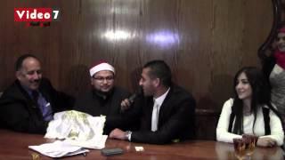 بالفيديو   أحمد شكرى يحتفل بعقد قرانه فى حضور محمد يوسف وعدد من لاعبى الأهلى