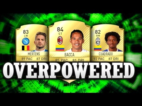 FIFA 17 - BEST CHEAP OVERPOWERED SERIE A/CALCIO A PLAYERS! - FIFA 17 ULTIMATE TEAM 💪