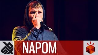 NaPoM  |  Grand Beatbox SHOWCASE Battle 2016  |  Elimination