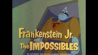 telvision tunes two 19 cartoon Frankenstein Jr and the Impossibles