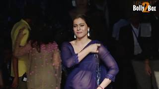 Kajol Hot Deep Navel Exposing