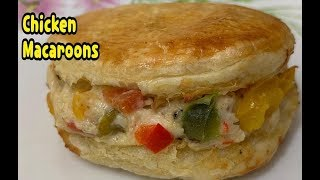 Chicken Macaroons Recipe/First Ever On YouTube By Yasmin's Cooking