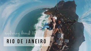 EXPLORING BRAZIL #01 - PARAGLIDING