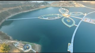 50,000-meter Floating Walkway Opens on River in southwest China