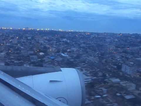 Bénin : atterissage sur Cotonou