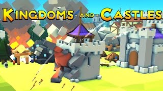 Kingdoms and Castles - Ep. 4 -The Growing City! - Kingdoms and Castles Gameplay