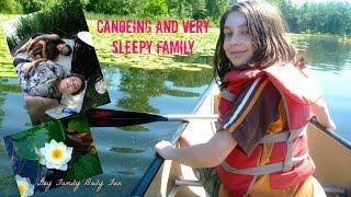 Canoeing And Very Sleepy Family | Gay Family Daily Fun