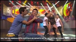 Mira el sexy playback de 'Poly' Ávila en LRDP