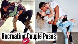 RECREATING CUTE COUPLE PHOTOS w/ Boyfriend