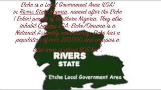 Etche Traditional Music - Etche, Rivers State, Nigeria