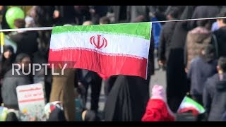 Iran: Hundreds of thousands celebrate Islamic Revolution anniversary in Tehran