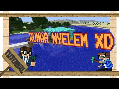 Minecraft Trik Rumah Di Bawah Air Playithub Largest Videos Hub