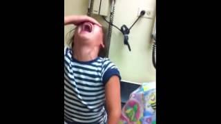 Reacción de niña por vacuna