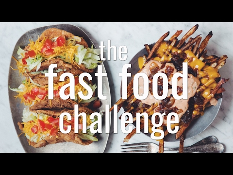 Xxx Mp4 THE FAST FOOD CHALLENGE VEGAN Hot For Food 3gp Sex