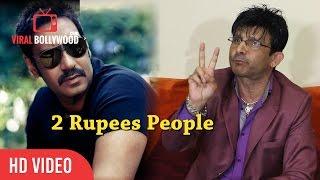 KRK Calls Ajay Devgan 2 Rupees People   KRK Reply To Ajay Devgan   KRK Review Controversy