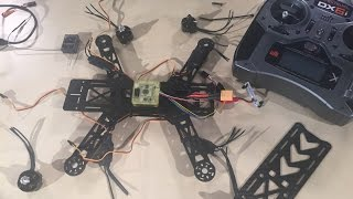 How To Build A FPV Racing Quadcopter Part 2 - The Build