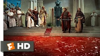 The Ten Commandments (3/10) Movie CLIP - Moses Turns Water Into Blood (1956) HD