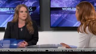 ZipHub featured on Worldwide Business with kathy ireland®
