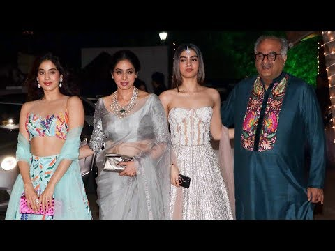 Xxx Mp4 Sridevi With HOT Daughters Jhanvi Amp Khushi Kapoor At Shilpa Shetty's Diwali Party 3gp Sex