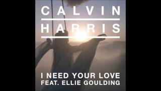 Calvin Harris feat. Ellie Goulding - I Need Your Love [Free Exclusive Download]