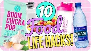 10 Food Life Hacks to Make Your Life Easier!
