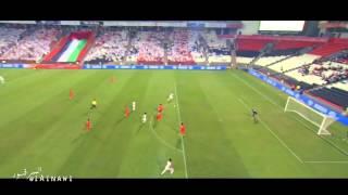 مهارات عمر عبدالرحمن في مباراة الامارات وفيتنام