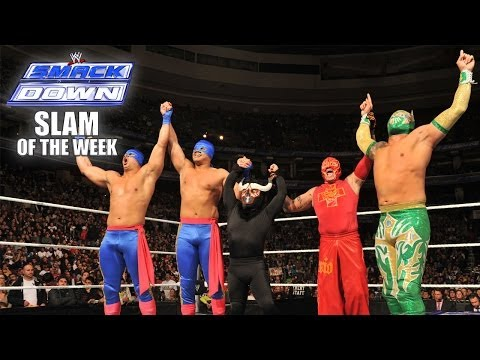Xxx Mp4 The Five Luchadors SmackDown Slam Of The Week 1 10 3gp Sex