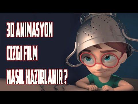 3d Cartoon Animation Çizgi Film Bakın Nasıl Hazırlanır?