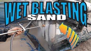 Wet Sandblasting Pressure Washer Kit DIY for Auto restoration