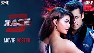 Race 3 Movie Poster - Salman Khan & Jacqueline Fernandez | Remo D