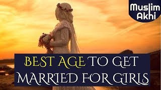 Best Age For A Girl To Get Married? Ask Mufti Menk