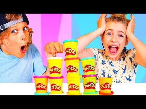 DON T Choose the Wrong PLAY DOH Slime Challenge with BONUS ROUND ft The Norris Nuts