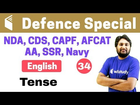 Xxx Mp4 7 00 PM NDA CDS CAPF AFCAT 2018 English By Harsh Sir Tense 3gp Sex