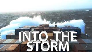 ROUGH SEAS! Bad Weather in Atlantic Ocean  | Life at Sea