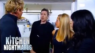 Chef Can't Take Criticism; Runs Away - Kitchen Nightmares