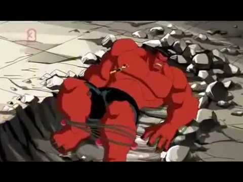 The Avengers Earth s Mightiests Hulk vs Red Hulk
