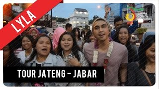 Lyla - Ga Romantis | Promo Tour, Jateng - Jabar