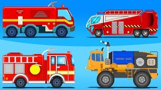 Fire Truck | Formation And Uses | Cartoon Videos For Children by Kids Channel